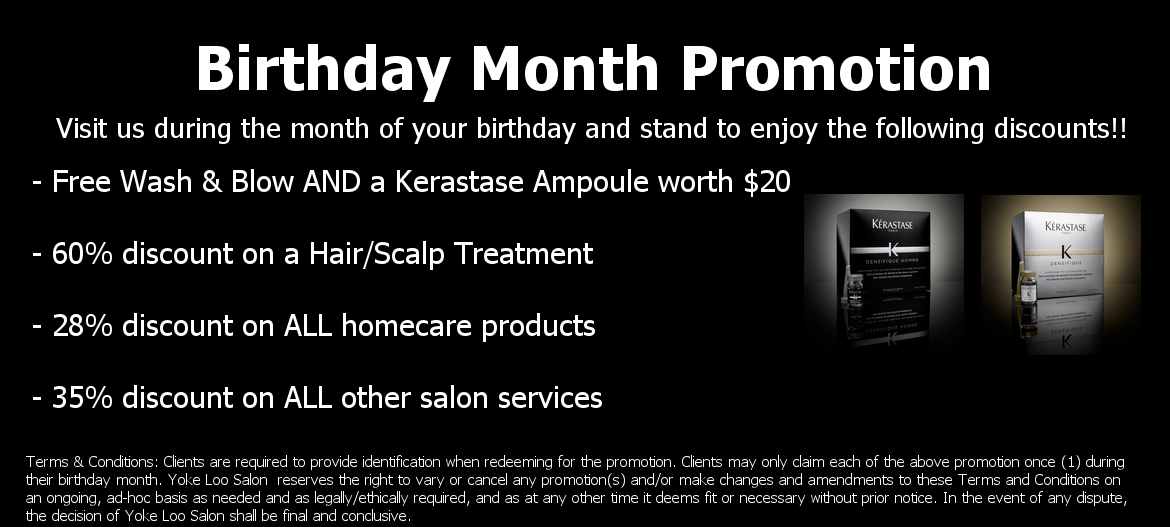 Check us out on Facebook for the latest Promotions & News